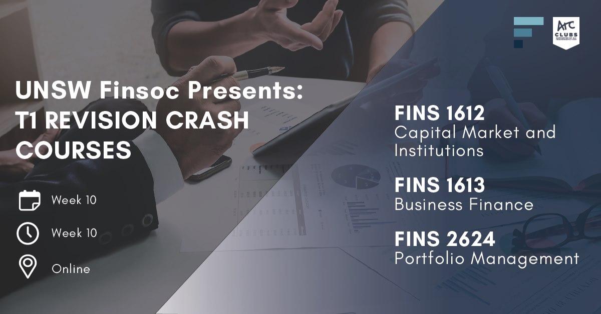 T1 Revision Crash Courses