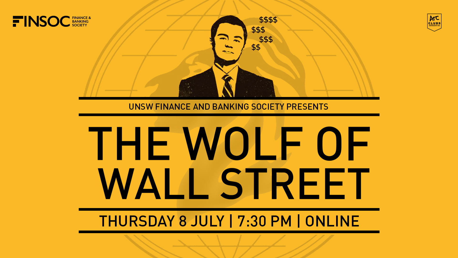 UNSW FINSOC Presents: The Wolf of Wall Street